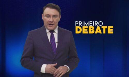 Chamada debate TV Arapuan